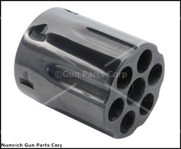 Cylinder w/o Gas Ring, .357 Mag, 6 Shot, Blued (For Models w/ Gas Ring on Yoke)