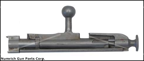 Bolt Assembly, 12 Ga. (Mosin Nagant Style for European Mounted Type Device)