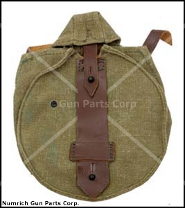 Drum Pouch, Canvas, Orig Russian Military, New (For 75 Round 7.62 x 39 Drums)