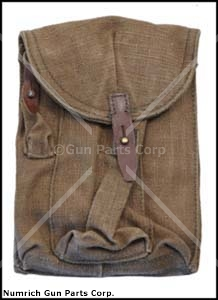 Magazine Pouch, Canvas, 4 Pkt, Holds 3-30 Rd. Mags & 1 Capsule Cleaning Kit