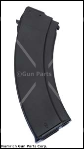 Magazine, 7.62 x 39, 30 Round, Black Polymer, New (Bulgarian)