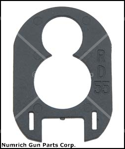 Stock Drop Plate D50, 20 Ga.