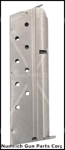 Magazine, .40 S&W, 8 Round, Stainless (Very Good to Excel; Made By Mec-Gar)