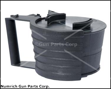 Drum Magazine, .308, Plastic, Drum Only (50Rd Belts & Starter Tabs Not Included)