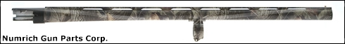 "Barrel w/ 1-3/4"" Tang, 12 Ga, 24"", VR, Realtree Hardwoods HD, 3"" Chamber"