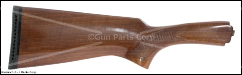 Stock, 20 Ga., Checkered Walnut, w/ Vent Rifle Pad, Gloss Finish, New