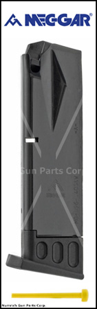 Magazine, .40 S&W, 10 Round, Blued, New (Mec-Gar)