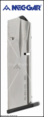Magazine, .380 ACP, 13 Round, Nickel, New (Mec-Gar)