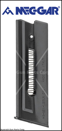 Magazine, .22 LR, 7 Round, Blued, New (Mec-Gar)