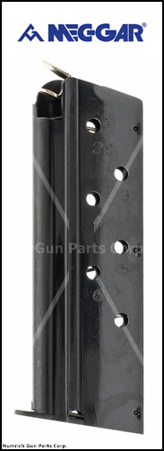 Magazine, .40 S&W, 7 Round, Blued, New (Mec-Gar)
