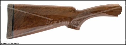 Stock, 20 Ga., w/ Churchill Logo Recoil Pad, Walnut, Checkered, Gloss Finish