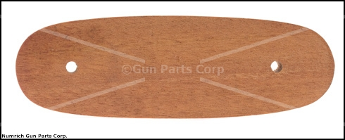 Stock Extension, European Walnut 5.280&quot; Long x .475&quot; Thick x 1.690&quot; Widest Point