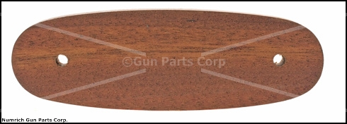 "Stock Extension, European Walnut 4.860"" Long x .595"" Thick x 1.585"" Widest Point"