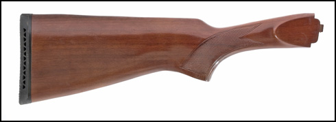 Stock, 12 Ga., Auto-Eject, Walnut, Checkered, Gloss Finish, Recoil Pad