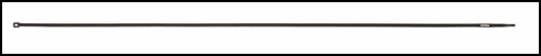 "Cleaning Rod, East German, 26-3/4"", Unissued"