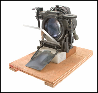 Reflex Sight, U.S. M73, Vietnam Era, Used on Bell AH-1G Cobra Attack Helicopters