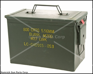 "Ammo Can, .50 Cal. ""FAT 50"""