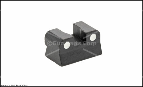 Rear Sight, 2-Dot White, New Original