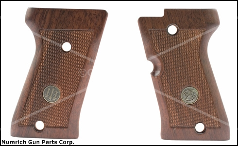 Grips, Type M, Walnut, New Factory Original