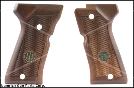 Grips, Checkered Walnut, New Factory Original