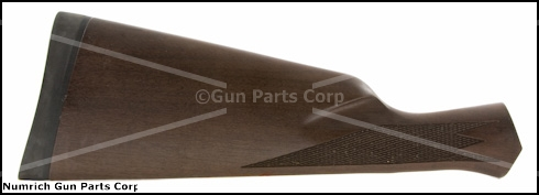 Stock, Straight Grip, Walnut, Checkered, Satin Finish, USRAC Logo Recoil Pad
