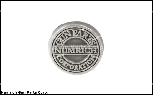 Numrich Gun Parts Corporation Grip Medallion (Sold Individually; NOT in Pairs)