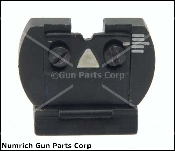 Rear Sight, Slug Barrel