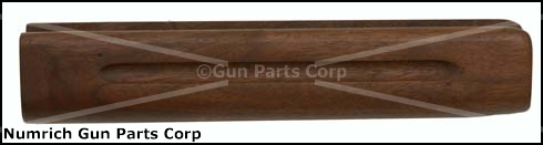 Forend, 12 Ga., 5 Shot, Plain Walnut (w/ Finger Groove) - -