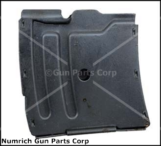 Magazine, .22 Hornet, 4 Round, Blued Steel