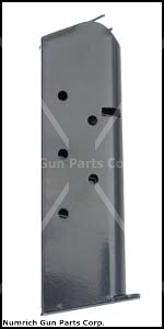 Magazine, .45 ACP, 7 Round, Black Finish, New (Aftermarket)