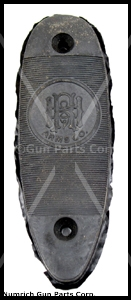 "Buttplate, Horizontal w/ ""H&R Arms Co"" Logo & Serrations"