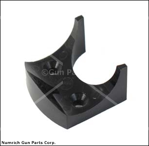 Forend Spacer, Black Plastic