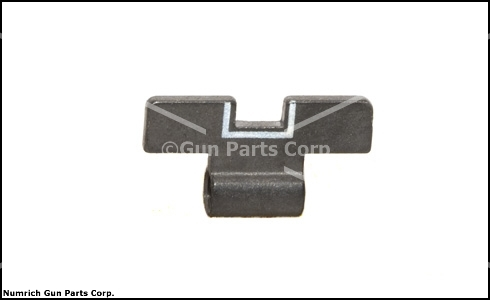 Rear Sight Slide, White Outline (.146)
