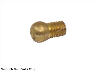 "Sight, Shotgun, Gold Bead (.130"" Diameter, 3-56 Threads; Threads Up To The Base)"