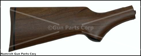 Stock, Pistol Grip, Plain Walnut, w/ Butt Pad