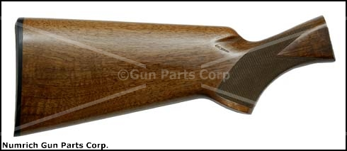 Stock, Double Auto (Twelvette), 12 Ga., High Gloss Walnut - Cut Checkering