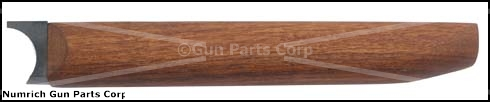 Forend, 12 Ga., w/ Metal, Complete, Walnut Finished - -