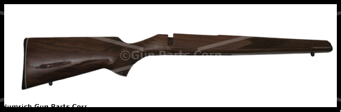 Stock, Short Action, Standard, High Gloss Walnut, Cut Checkered