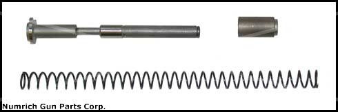 Recoil Buffer Spring System, .45 Cal., Dual Action