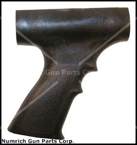 Forend, 12 Ga. w/ Pistol Grip- Black Injection Molded w/ 33% Glass Filled Nylon