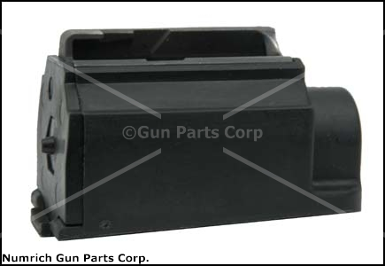 Magazine, .44 Mag, 4 Round, Black Plastic, New (Factory)