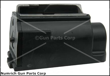 Magazine, .44 Mag, 4 Round, Black Plastic, New (Model Deefield 99/44; Factory)