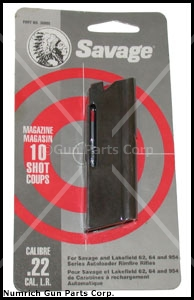 Magazine, .22 LR, 10 Round, Original. Mfg'd In Canada. Black Anodized Aluminum.