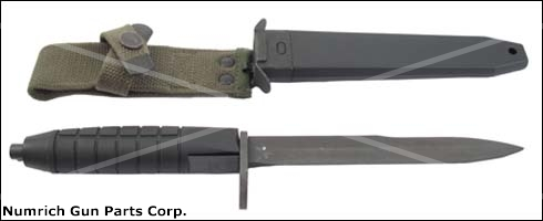 Bayonet & Scabbard - New, Mil-Spec