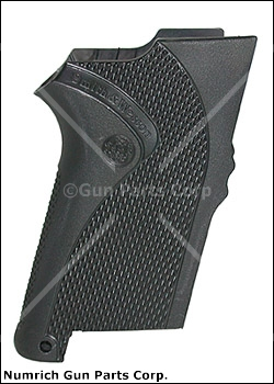 Grip - New, Factory Original Molded & Textured Black Nylon Grip w/ Straight Back