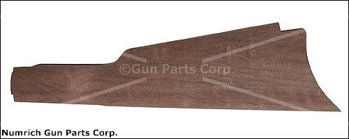 Stock, Semi-Finished, Straight Grip, Cut For Original Style Crescent Buttplate
