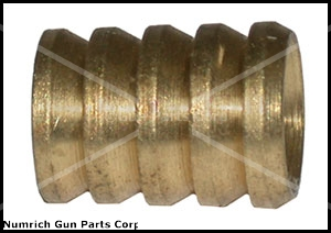 Cleaning Jag, .54 Cal., 10 x 32 & 1/4 x 28 TPI Threaded Ends, Brass