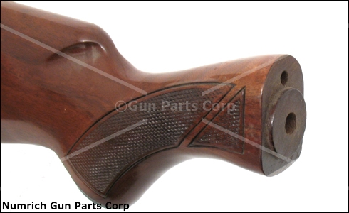 Stock w/ Recoil Pad, Checkered Walnut, Style B