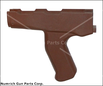 Pistol Grip, Front, Red