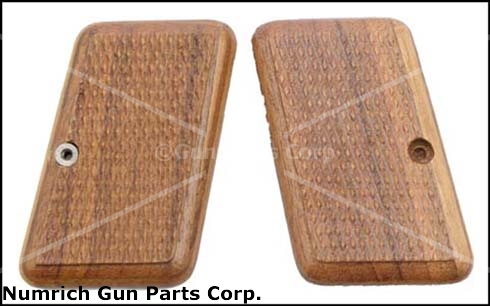 Grips, Checkered Walnut, Replacement